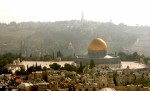 Temple Mount and Mount of Olives