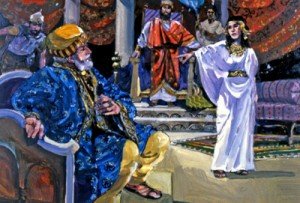 Esther accuses Haman
