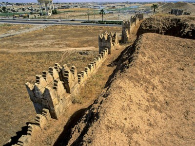 Nineveh walls, near present day Mosul, Iraq. Photo by James Gordon/Flickr